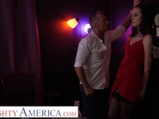 Naughty America - Freya Parker cheats on husband with old strip club boss