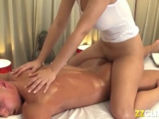 Best dick massage ever of busty Milf