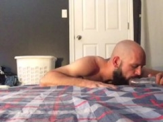 He alternates licking you and missionary fucking until you cum as he cums inside you joi