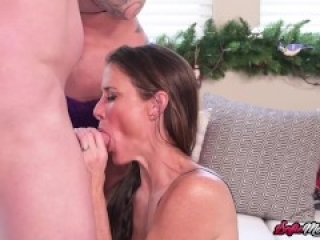 MILF Sofie Marie In Wild Threesome With Big Ass Busty Lady
