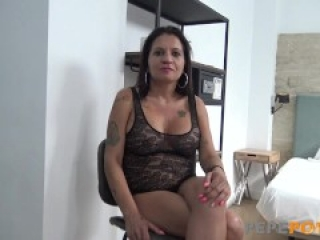 Sara the MILF got wrecked by a young cock