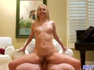MILF Trip - Horny blonde MILF takes a pounding from fat cock - Part 2