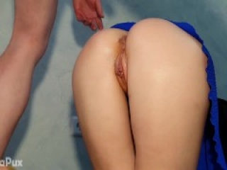 MY DAD'S BEST FRIEND FUCKS ME RIGHT IN THE ASS EVERY TIME AFTER SCHOOL! I LOVE IT!
