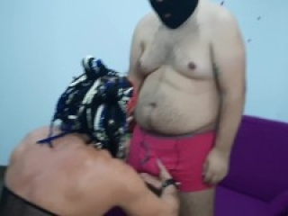 Fucking the ass of a vicious guy.