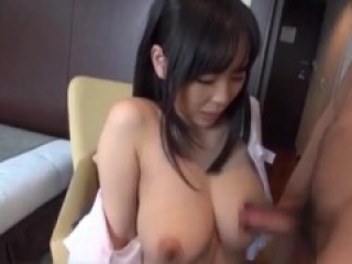 Cute and busty Asian schoolgirl hard fucked in quarantine (Full video in comments)