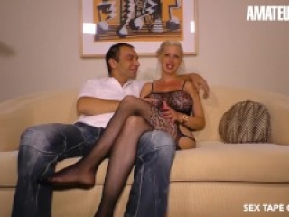 AmateurEuro - German Couple Fucks Hard In Front Of The Camera