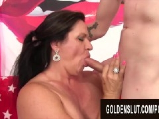 GoldenSlut - Older Ladies Show off Their Cock Sucking Skills Compilation 20