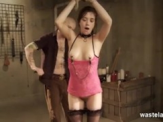 Submissive Chick Has Massive Orgasms From Maledom Master