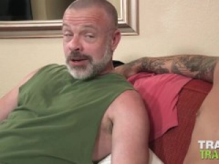 TRAILERTRASHBOYS Mature Patrick Oconner Fucked By Inked Top