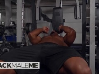 Blackmaleme - DeAngelo Jackson Is Too Hot To Be Cody Smith's Personal Trainer