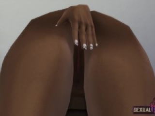 I Have Dinner With my Stepmom and the Dessert is her wet Pussy - Sexual Hot Animations