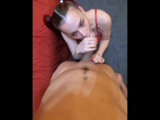 Thee Ultimate Sloppy Cock WORSHIP in POV- TWITTER 10K-MRS. CUMBUSTABLE