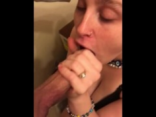 Quick Bj right after work