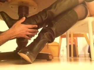 ❤️ Feet Worship part 1 ❤️Goddess Came Home ❤️ Foot Care Part 1 ❤️ with background relaxing music