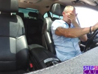 """Step Daughter To Dad """"I always wanted to get fucked in the back seat of a fancy car like this""""S14:E3"""