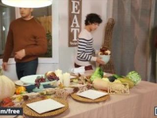 Men - Nate Grimes Plans A Special Friendsgiving Feast Which Ends Up In A Great Orgy