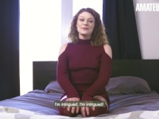 CastingFrancais - Big Ass Canadian Newbie Tries Porn For The First Time