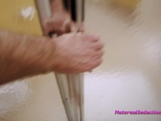 Step Mom is Stuck in the Shower - Nikki Brooks
