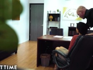 Creepy Boss Caught On Spycam! He Won't Stop Harassing Me!