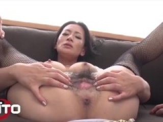 Erito - Sexy Asian Milf Gets Her Pussy Filled With Warm Cum
