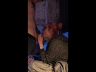 Shy 19 Year Old Tinder Hookup Practices Her First Blowjob