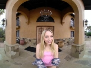 Sex Break On The Work With Skinny Teen Blonde Lily Larimar VR Porn