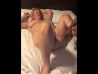 BBC fuck to orgasm chubby american mom from DateFree.eu