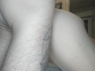 I went to my mother-in-law's room and fucked her in the pussy powerfully finishing on her back