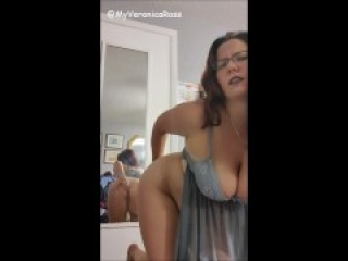 Mirror Play: Painful Anal Huge Dildo Insertion: Bad Dragon Echo -Fan Only