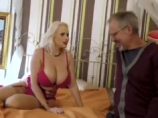 Angel wicky fucks back man infront of white husband