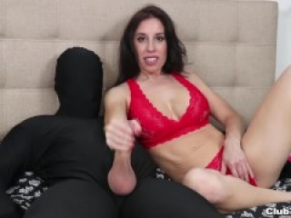 He wanted a Handjob - Then She Regrets it (accidentally cums on his face)